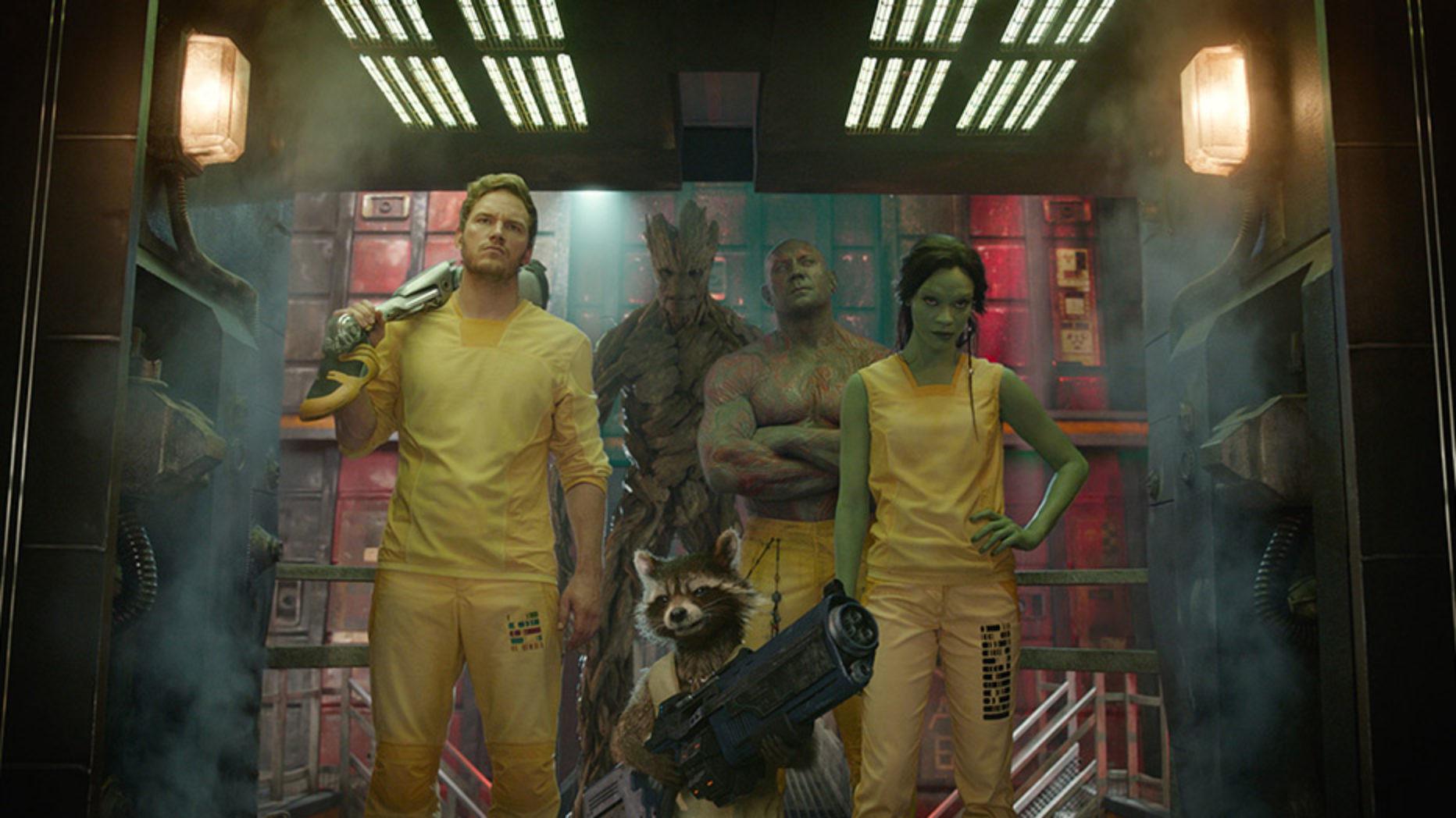 Guardian's of the Galaxy Blu-ray