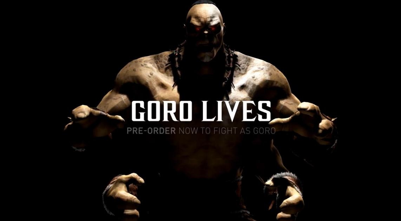 Goro Lives MKX