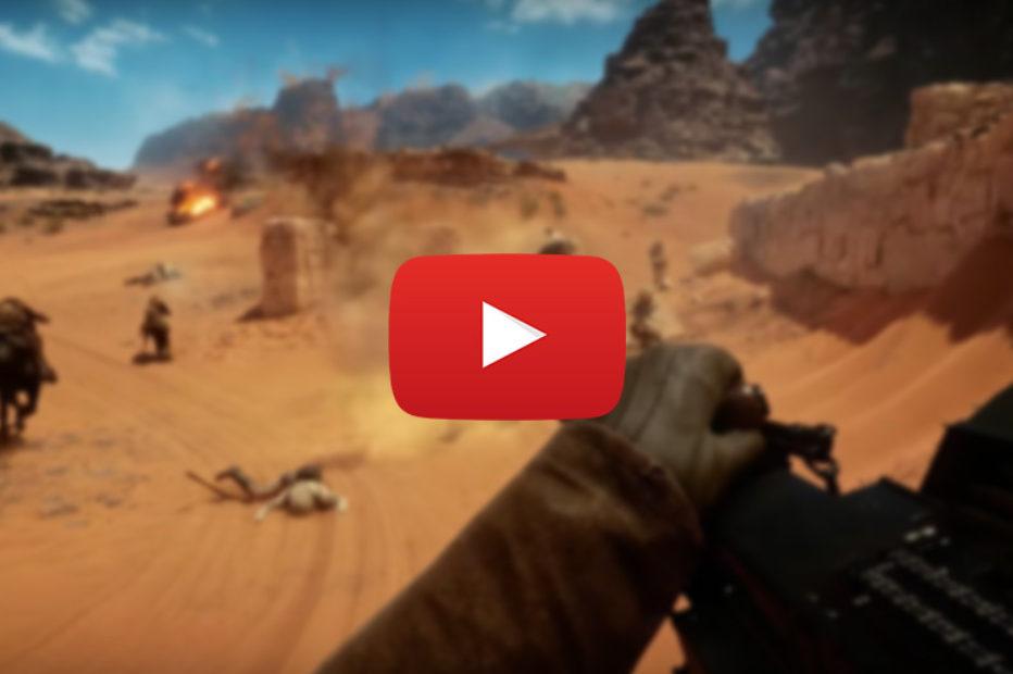 GamesCom Battlefield 1 Videos – You Like?