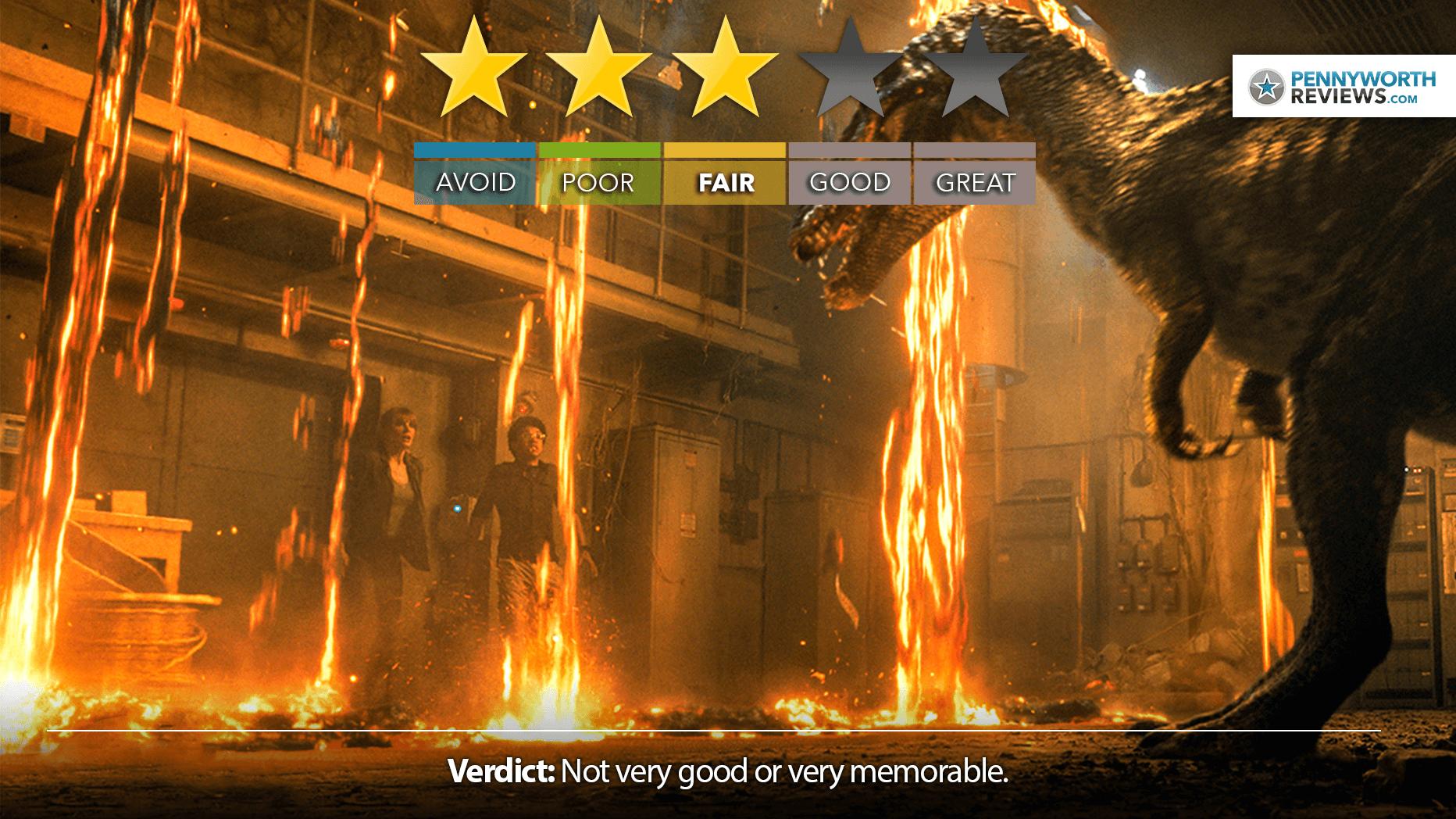 JURASSIC WORLD: FALLEN KINGDOM? More Like Rex-ident Evil | IMAX Review