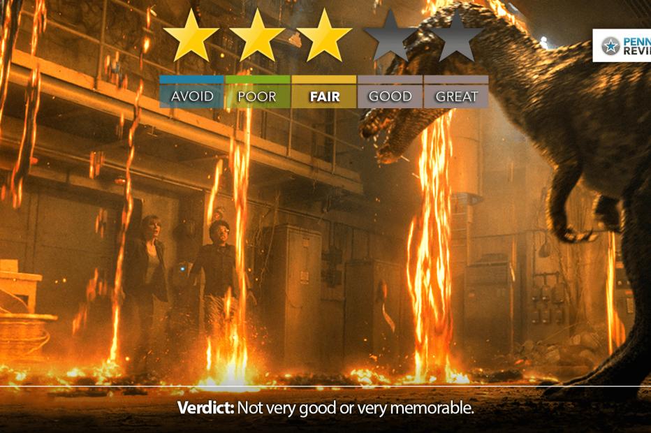 JURASSIC WORLD: FALLEN KINGDOM? More Like Rex-ident Evil   IMAX Review