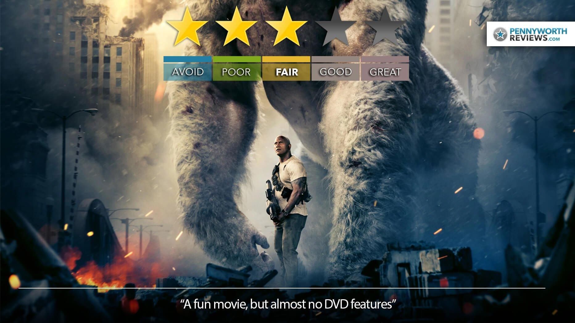 RAMPAGE – Ape Escape | DVD Review