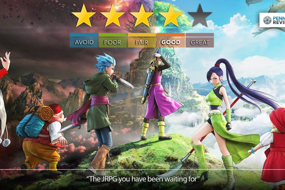 Dragon Quest XI Review   PS4