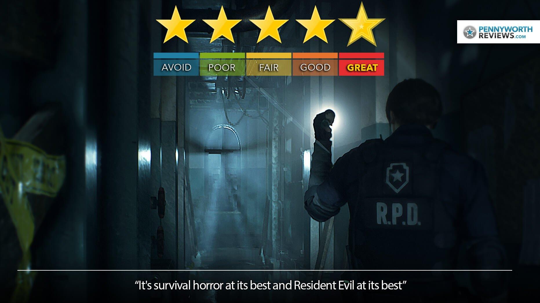 Resident Evil 2 Review – The Dark Night