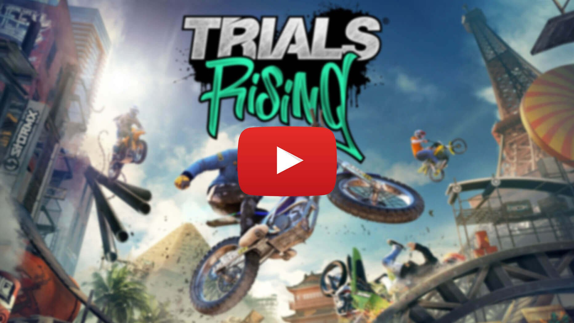 Watch Us Suck At 2 Levels Of Trials Rising (6 min)
