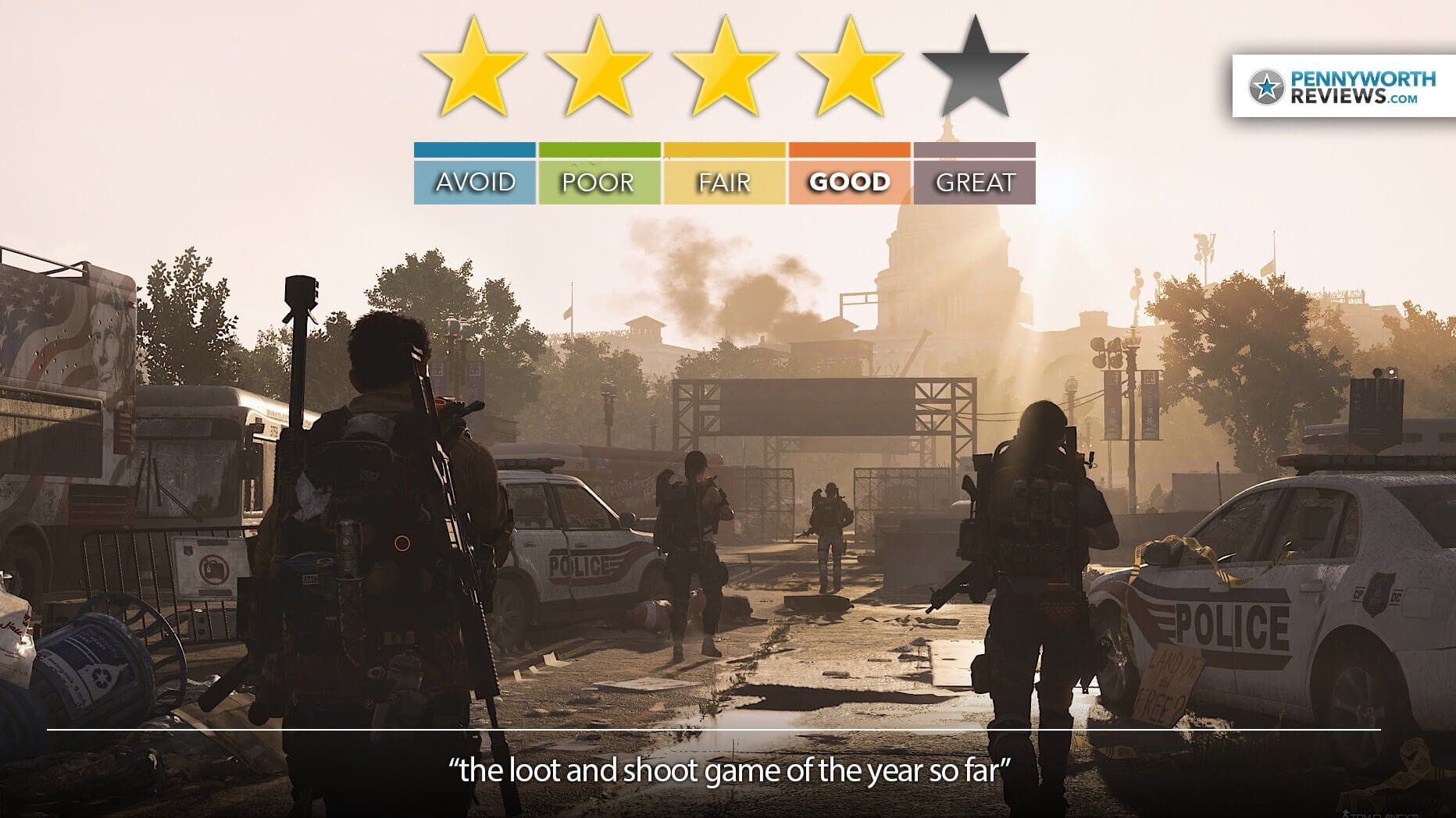 Tom Clancy's The Division 2 Review | PC/PS4