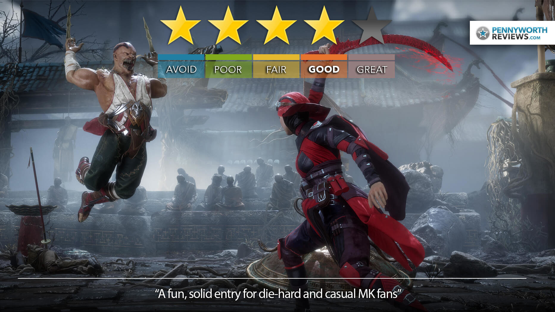 Mortal Kombat 11 Review (Patch Update) – A Throne of Games
