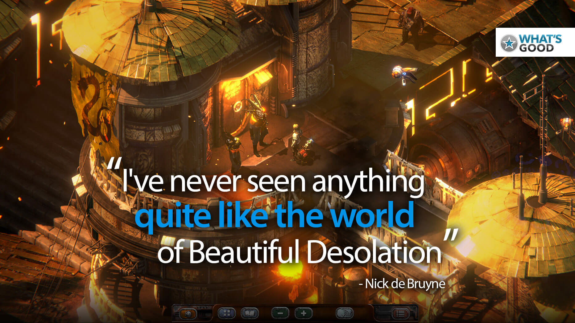 Beautiful Desolation Blends Old-School Gaming With Truly Fresh Sci-Fi    PC Game Review (Final)