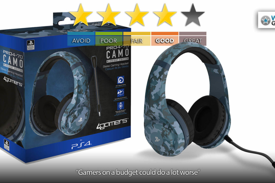 Are The 4Gamers PRO4-70 PS4 Headphones Good For Gamers? | Tech Review