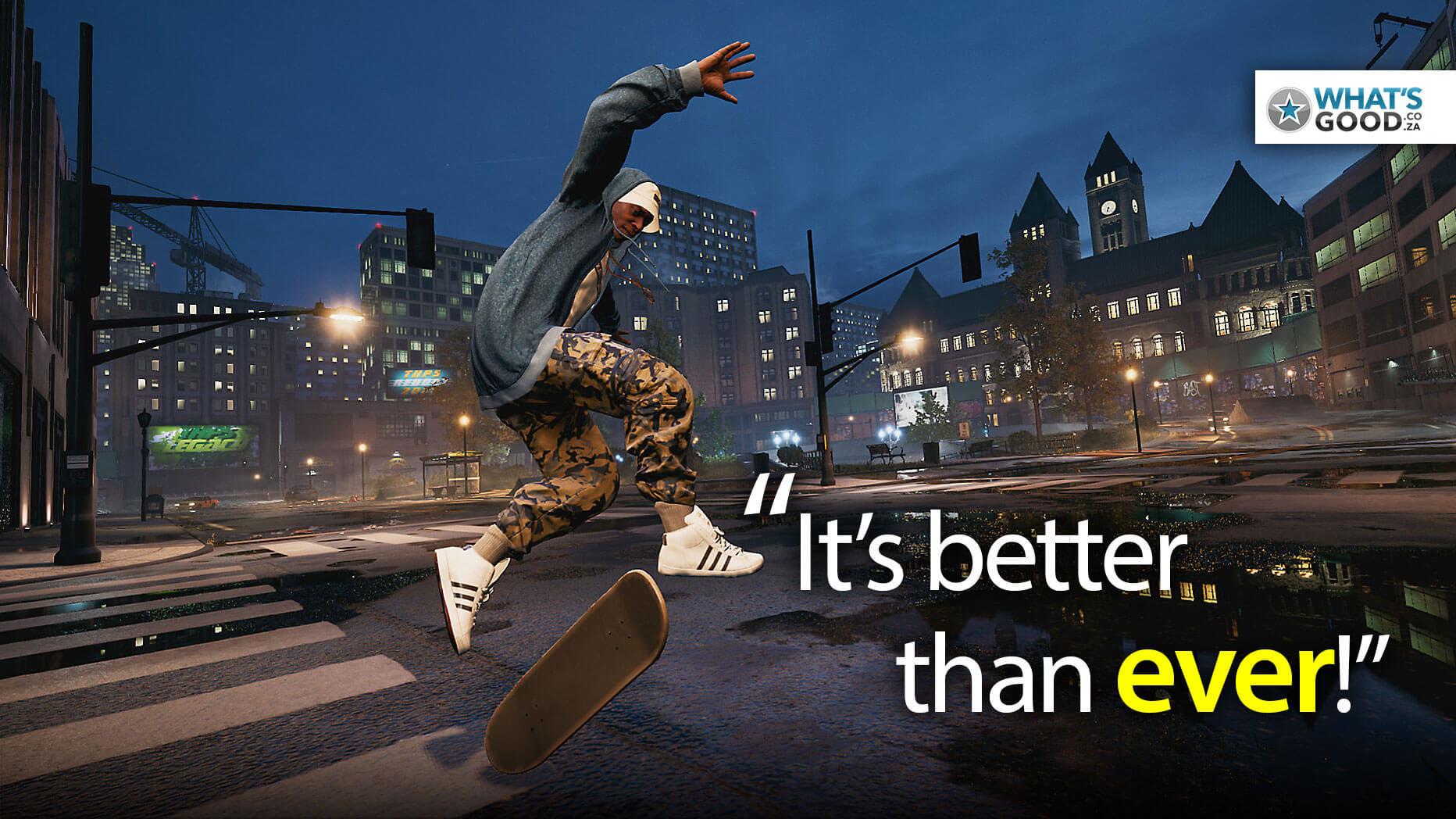 Tony Hawk's Pro Skater 1 + 2 Review – PS4 | Top Deck