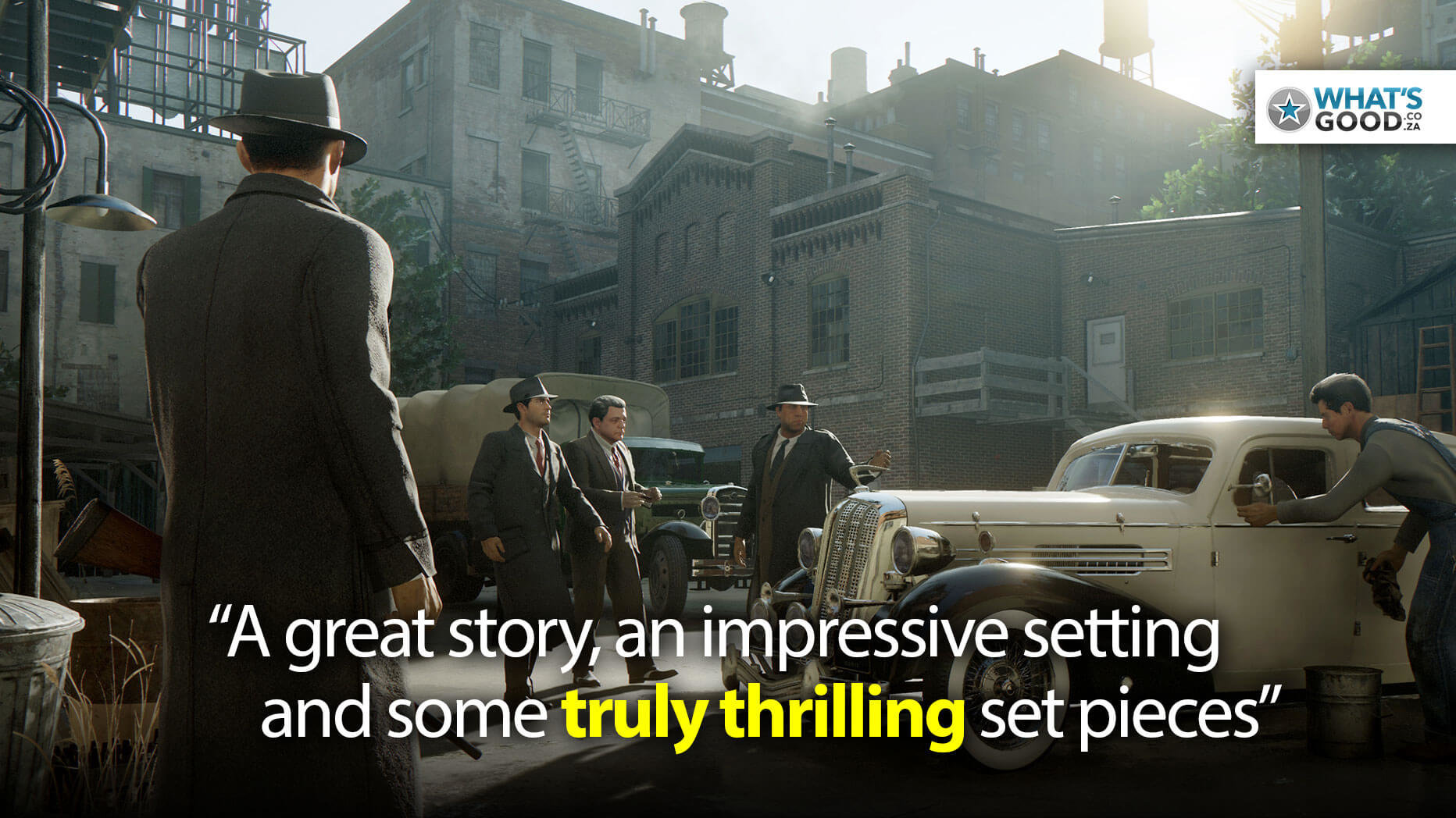 Mafia: Definitive Edition Review – PS4 Pro