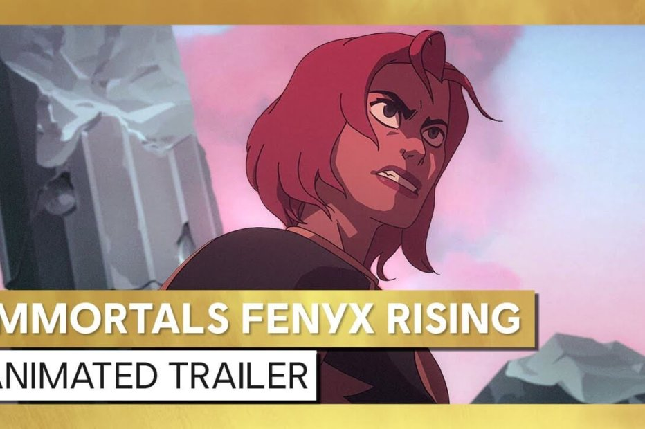 Don't Myth This Anime-ted Trailer for Immortals Fenyx Rising