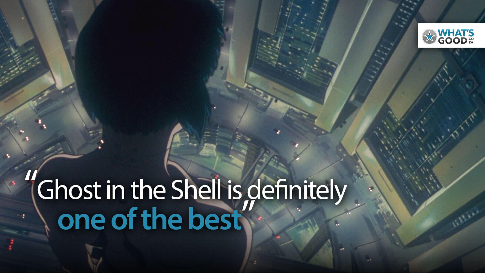 Ghost in the shell anime movie screenshots and quote