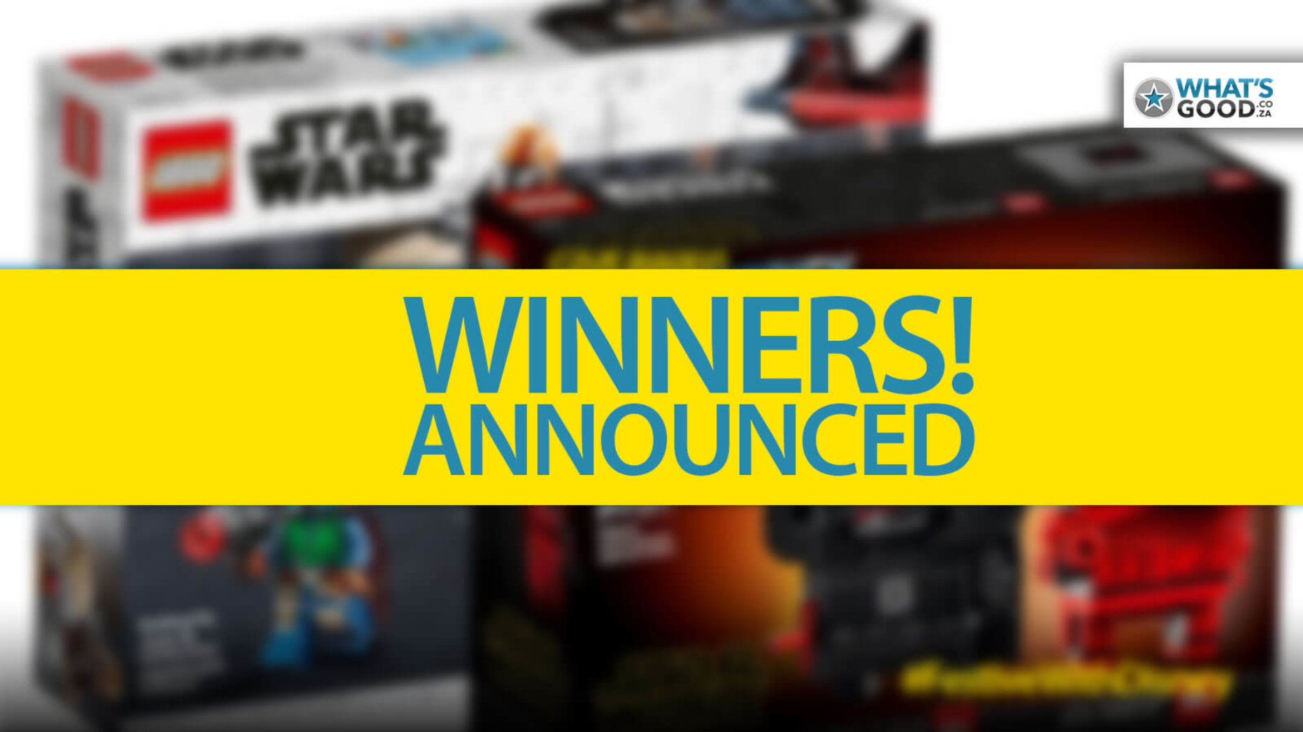 WINNERS! Here's Who Is Getting A LEGO Prize!