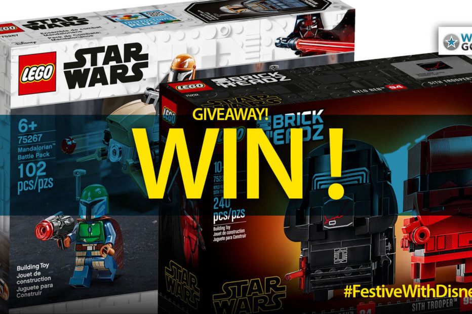 WIN! This LEGO Mandalorian Battle or Sith Brick Headz Pack – Details Inside