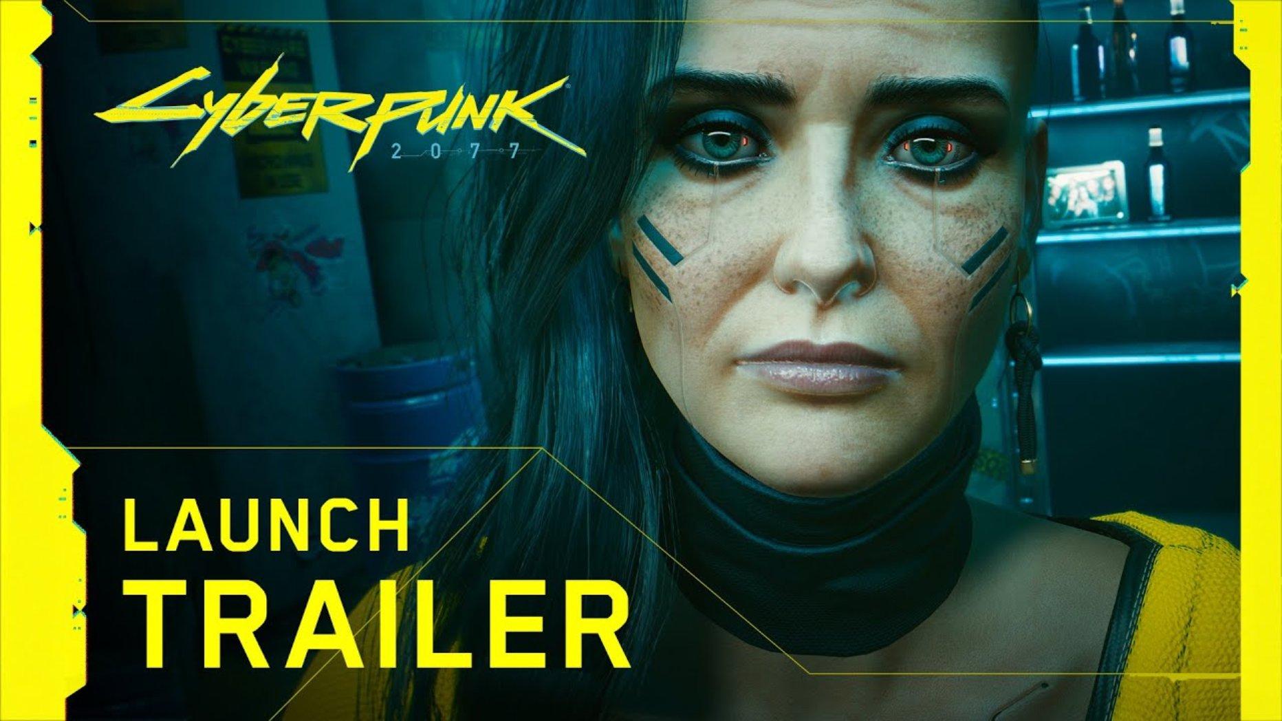 WATCH: Cyberpunk 2077 is FINALLY here – It's Launch Trailer Time