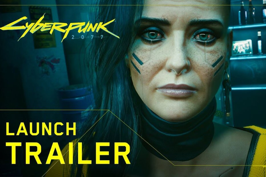 WATCH: Cyberpunk 2077 is FINALLY here – It's Launch Trailer Time