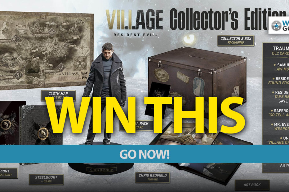 Go NOW to Win A Resident Evil Village Collector's Edition Worth R3999!