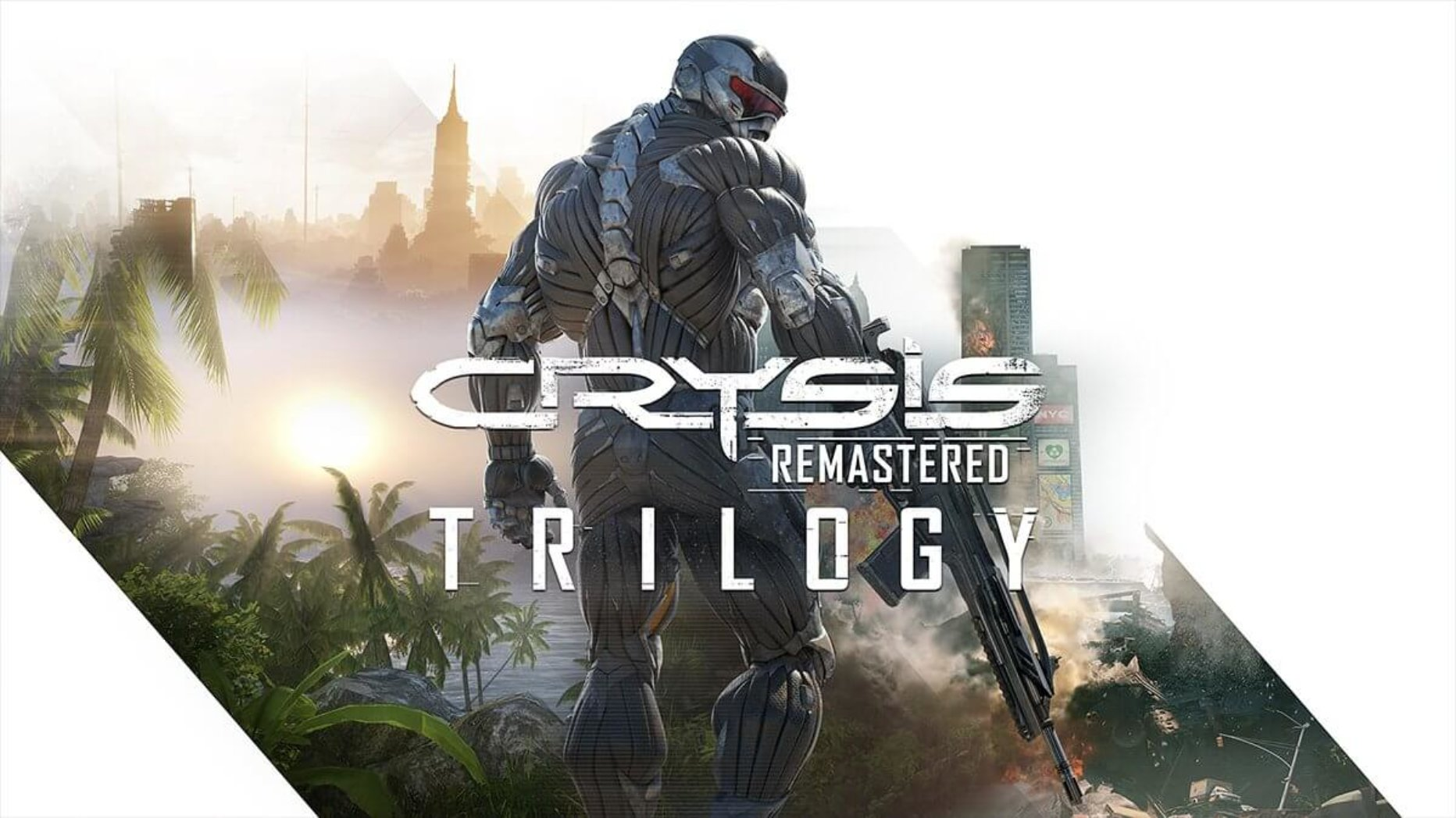Crysis Remastered Trilogy Is Coming! Here's the Trailer.